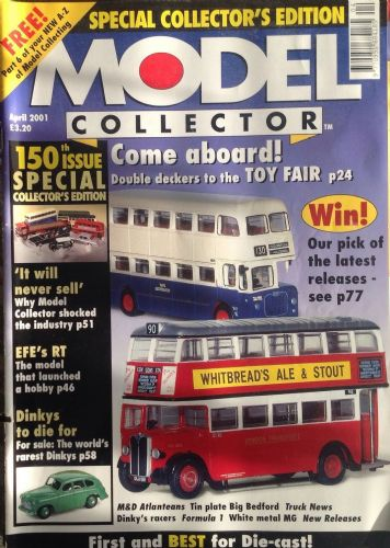 ORIGINAL MODEL COLLECTOR MAGAZINE April 2001